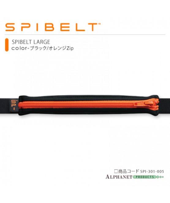 SPIBELT LARGE ブラック/オレンジZip