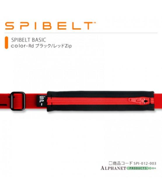 SPIBELT BASIC Rd ブラック/レッドZip