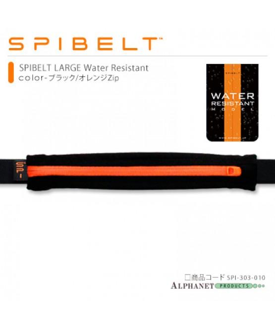 SPIBELT LARGE WATER RESISTANT ブラック/オレンジzip