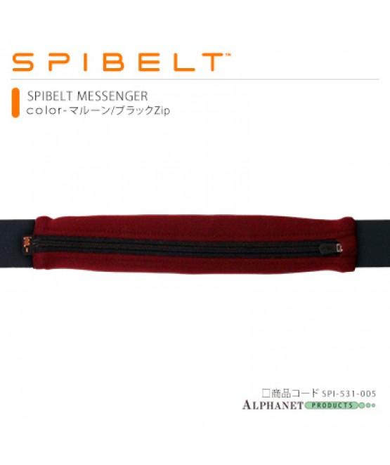 SPIBELT メッセンジャー マルーン/ブラック